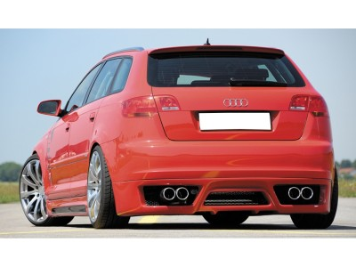 Audi A3 8P Sportback Extensie Bara Spate Vortex