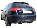 Audi A3 8P Sportback S-Look Rear Bumper Extension