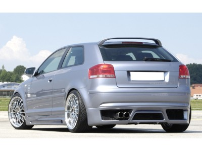 Audi A3 8P Vector Rear Bumper Extension