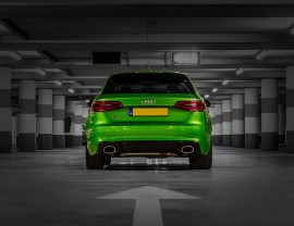 Audi A3 8V Extensie Bara Spate RS3-Look