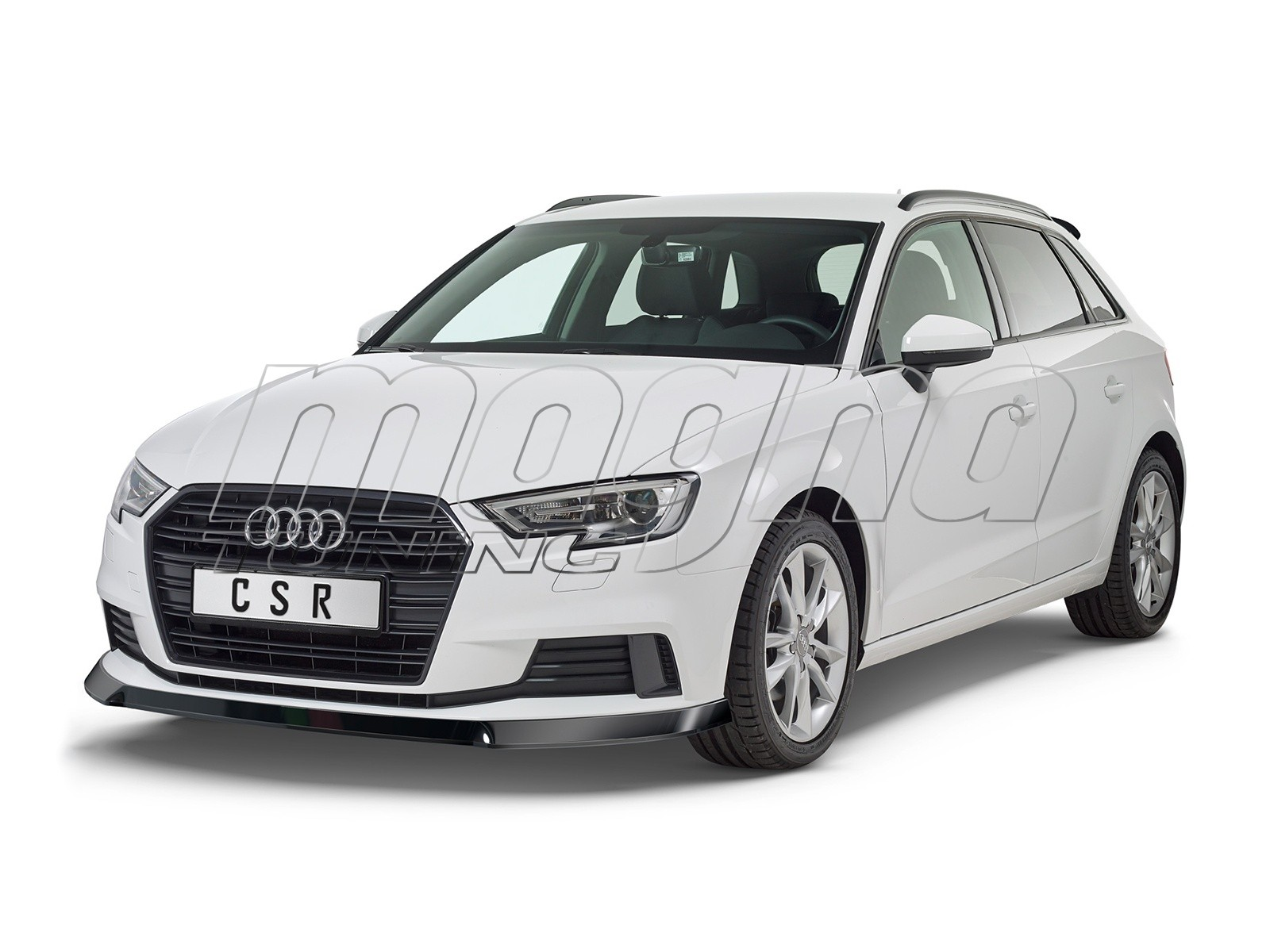 Audi A3 8V Facelift CX Front Bumper Extension