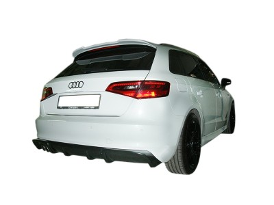 Audi A3 8V Master Rear Bumper Extension