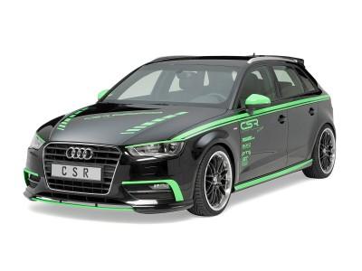 Audi A3 8V N2 Front Bumper Extension