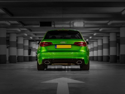 Audi A3 8V RS3-Look Rear Bumper Extension