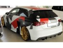 Audi A3 8V Retina Rear Bumper Extension