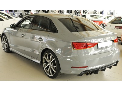Audi A3 8V Retina-X Rear Bumper Extension
