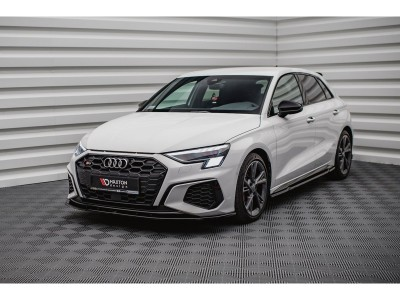 Audi A3 8Y Matrix Front Bumper Extension
