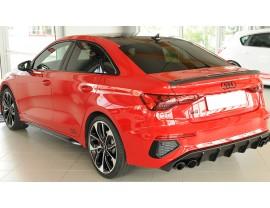 Audi A3 8Y Razor Heckansatz