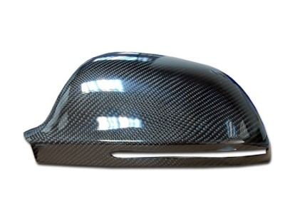Audi A4 / S4 B8 / 8K Exclusive Carbon Spiegel Abdeckungen