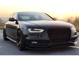 Audi A4 / S4 B8 / 8K Facelift MaxLine2 Front Bumper Extension