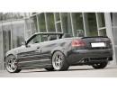 Audi A4 8H Convertible Vector Rear Bumper Extension