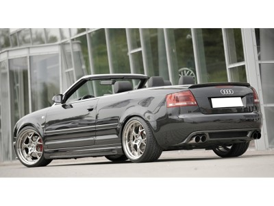 Audi A4 8H Convertible Vector Rear Bumper Extension