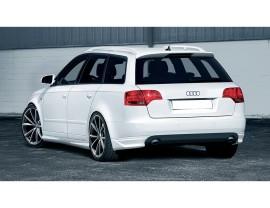 Audi A4 B7 / 8E Avant SX Rear Bumper Extensions