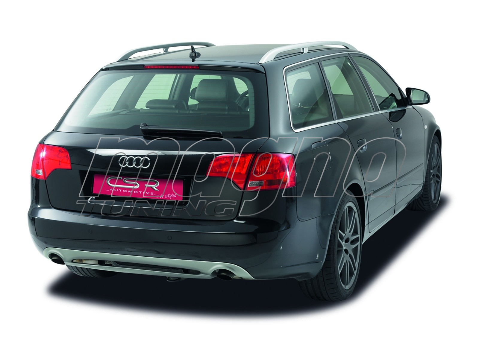 audi a4 b7 8e avant x line rear bumper extension. Black Bedroom Furniture Sets. Home Design Ideas