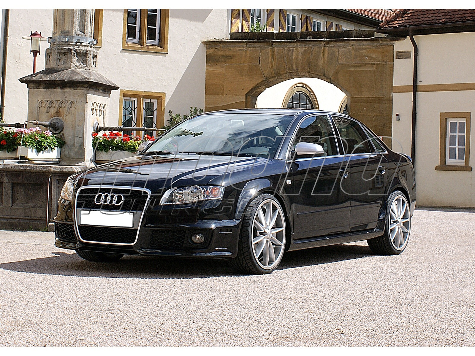 audi a4 b7 8e body kit rs4 look. Black Bedroom Furniture Sets. Home Design Ideas