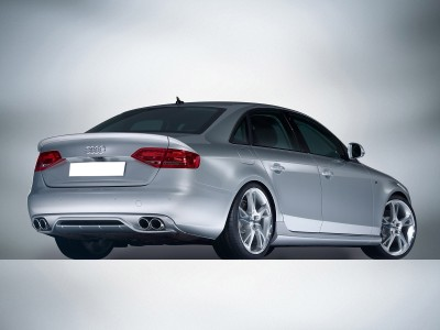 Audi A4 B8 / 8K AB-Look Rear Bumper Extension