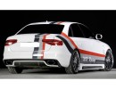 Audi A4 B8 / 8K Facelift Extensie Bara Spate Vector