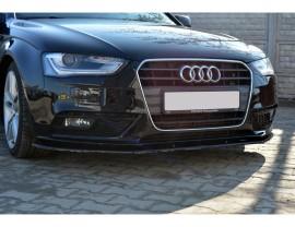 Audi A4 B8 / 8K Facelift Matrix Front Bumper Extension
