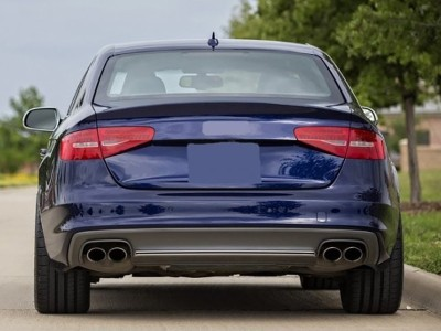 Audi A4 B8 / 8K Facelift S4-Look Rear Bumper Extension