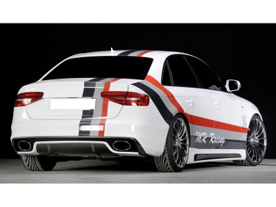 Audi A4 B8 / 8K Facelift Vector Heckansatz