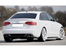 Audi A4 B8 / 8K Razor Rear Bumper Extension