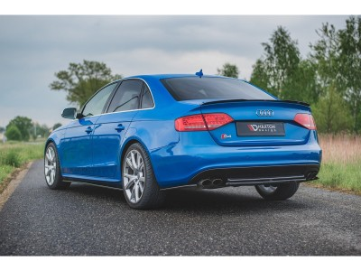 Audi A4 B8 / 8K S-Line Monor Rear Bumper Extension