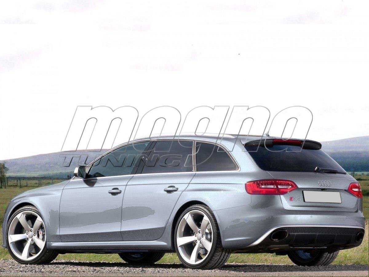 Audi A4 B8 / 8K Avant RS4-Look Rear Wing