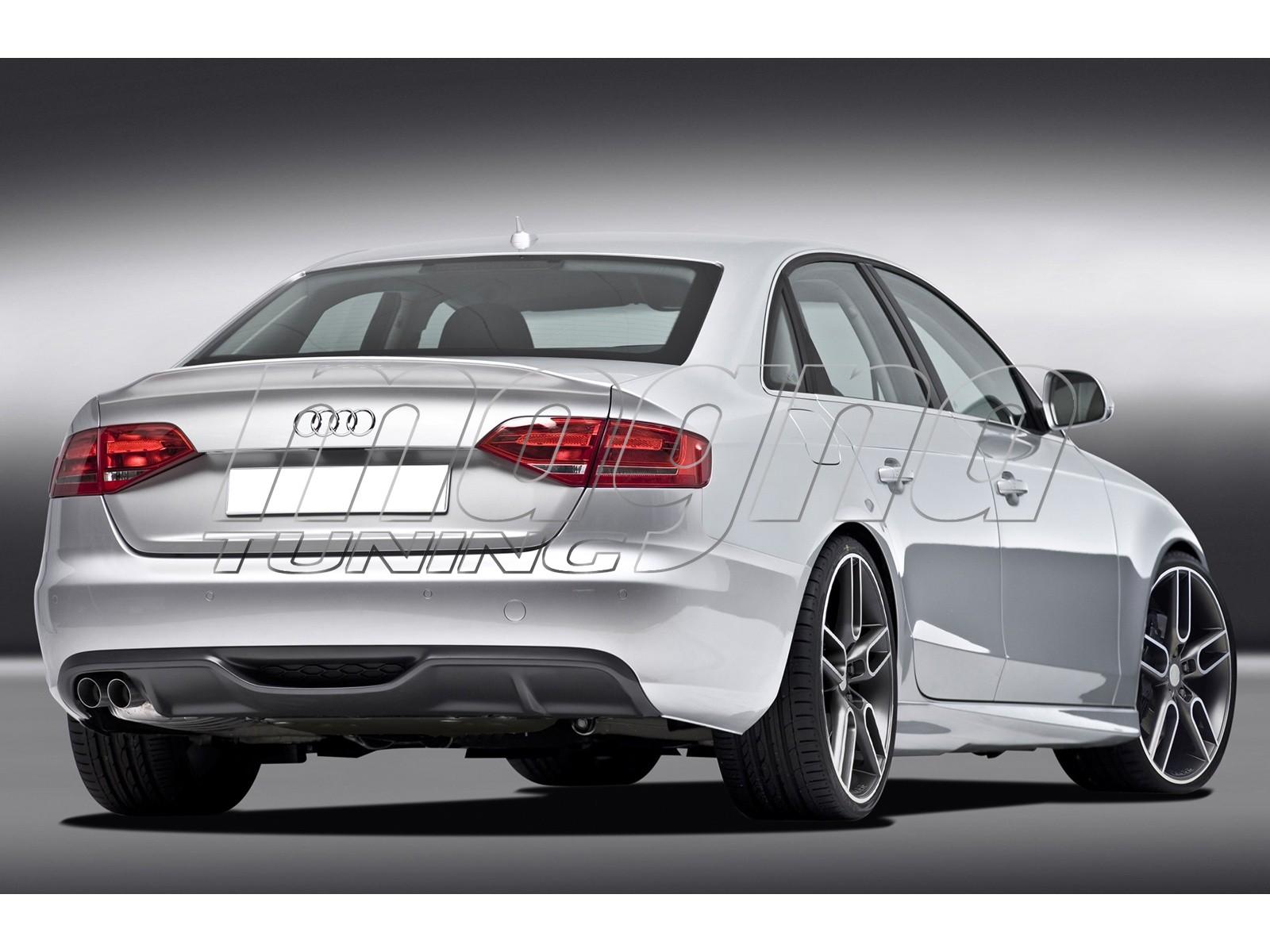 Audi A4 B8 / 8K C2 Rear Bumper Extension