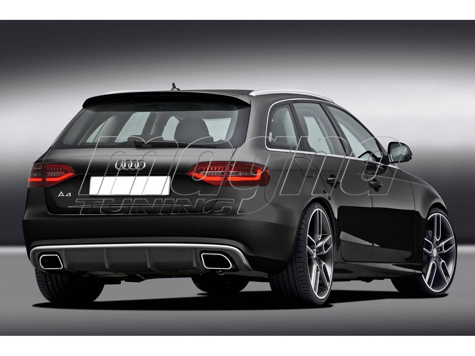 Audi A4 B8 / 8K Facelift CX Rear Bumper Extension