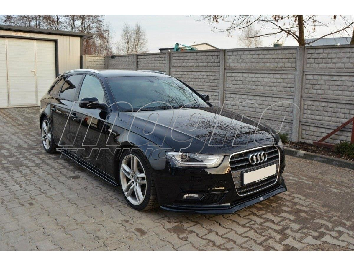 audi a4 b8 8k facelift master front bumper extension. Black Bedroom Furniture Sets. Home Design Ideas