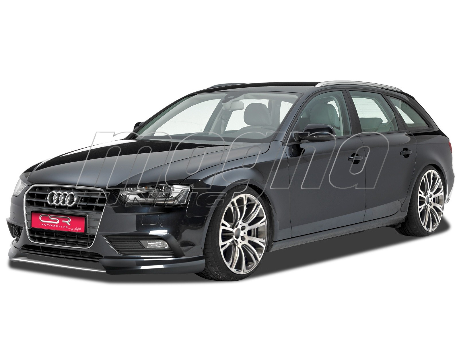 audi a4 b8 8k facelift n2 front bumper extension. Black Bedroom Furniture Sets. Home Design Ideas