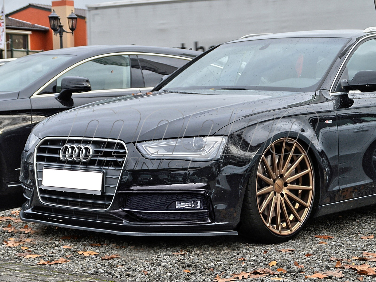 Audi A4 B8 8k Facelift S Line Intenso S Front Bumper Extension
