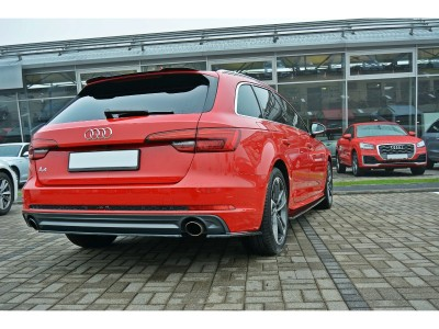 Audi A4 B9 / 8W Matrix Rear Bumper Extension