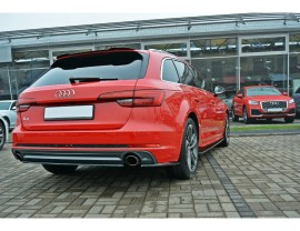 Audi A4 B9 / 8W Matrix Rear Wing