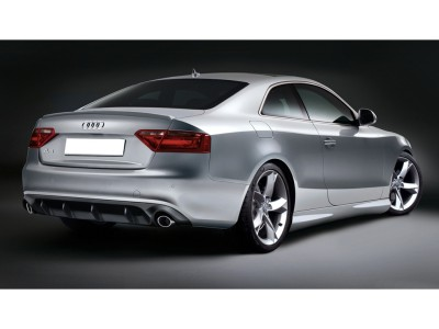 Audi A5 8T A-Style Rear Bumper Extension