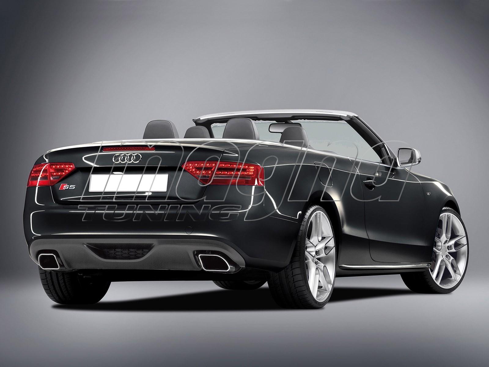 Audi A5 8T C2 Rear Bumper Extension