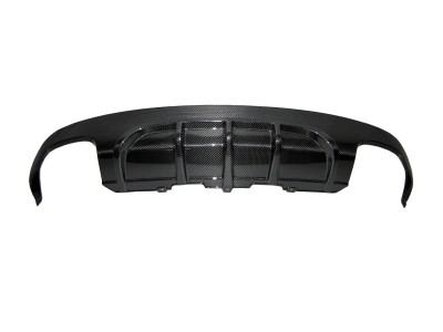 Audi A5 8T DTM-Look Carbon Fiber Rear Bumper Extension