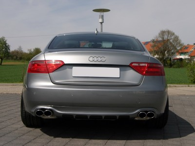 Audi A5 8T Enos Rear Bumper Extension