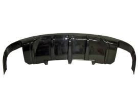 Audi A5 8T Facelift DTM-Style Carbon Fiber Rear Bumper Extension