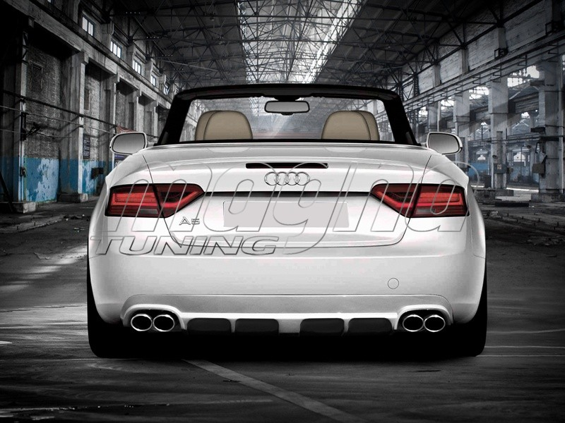 Audi A5 8T Facelift Enos Heckansatz
