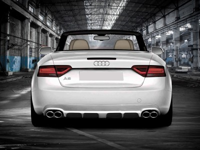 Audi A5 8T Facelift Enos Rear Bumper Extension