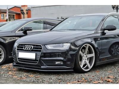 Audi A5 8T Facelift Iris Front Bumper Extension