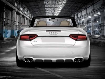 Audi A5 8T Facelift J2 Rear Bumper Extension