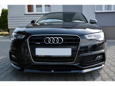 Audi A5 8T Facelift Matrix Front Bumper Extension