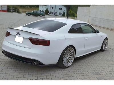 Audi A5 8T Facelift Matrix Rear Bumper Extension