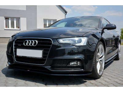 Audi A5 8T Facelift Matrix2 Front Bumper Extension