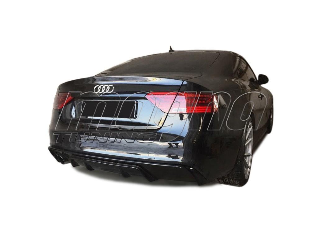 Audi A5 8T Facelift RS-Design Heckansatz