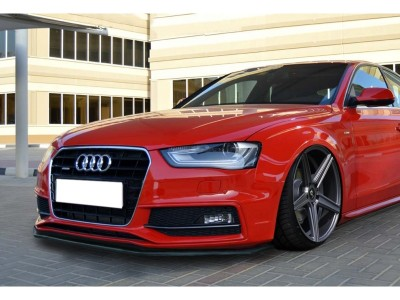 Audi A5 8T Facelift S-Line Intenso-S Front Bumper Extension