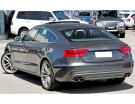 Audi A5 8T Facelift S5-Look Rear Bumper Extension