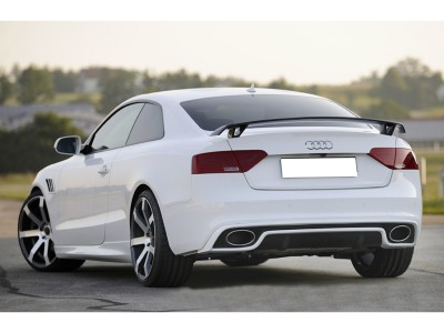 Audi A5 8T Facelift Vortex Rear Bumper Extension
